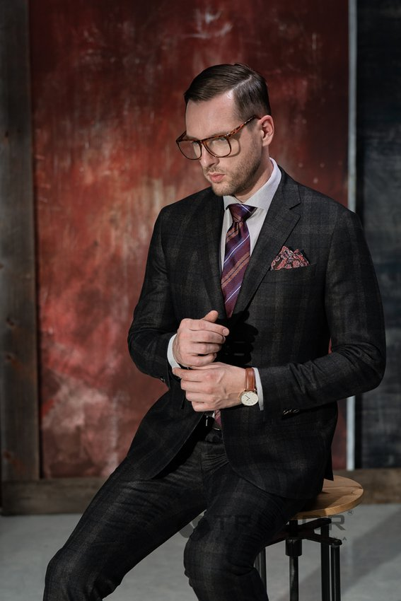 Ткань Vitale Barberis Canonico Made in Italy